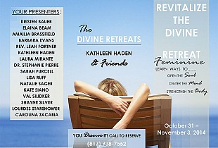 Keynote Presentation at Revitalize the Divine Feminine Retreat