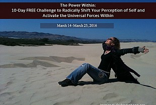 The Power Within: 10 Day FREE Challenge to Radically Shift Your Perception of Self and Activate the Universal Forces Within